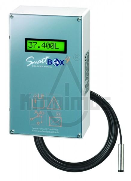 Smart Box 4 IP30 inkl. Anzeigegerät und hydrostatischer Sonde