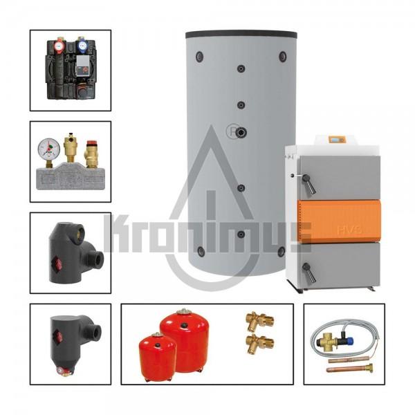 Holzvergaserpakete HVS 16-1 Lambda Control 16 kW