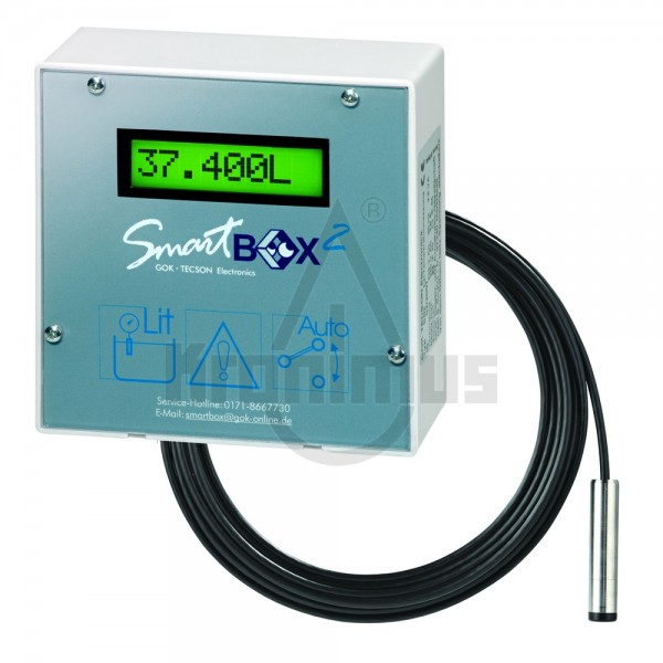 Smart Box 2 IP65 inkl. Anzeigegerät und hydrostatischer Sonde