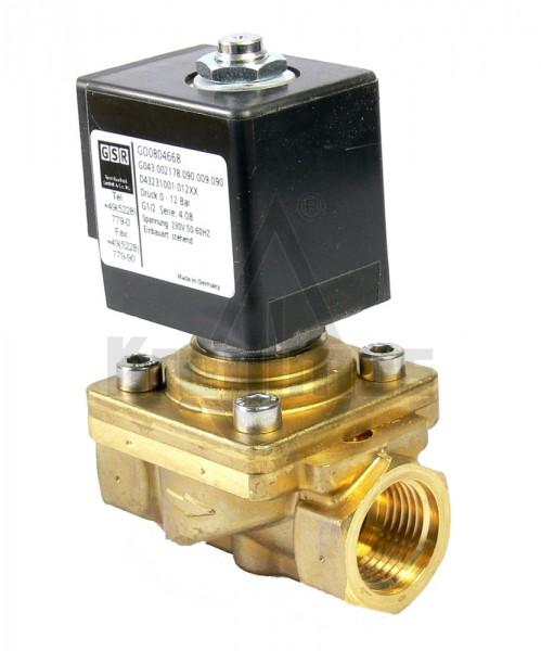 """GSR Magnetventil 3/8"""" 0-16 bar 230V D4322/1006/012"""
