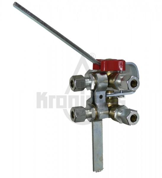 AKA-Doppelumschaltventil 12 mm