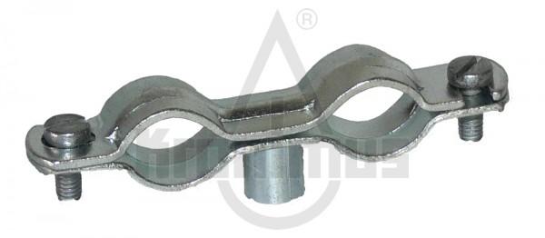 Stahl-Aufschraubschelle 12-16 doppelt