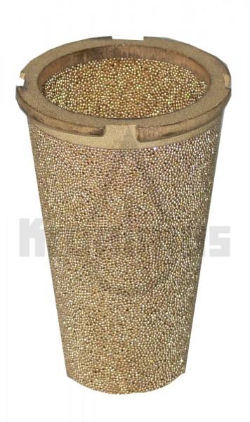 Sinterbronzefiltereinsatz Sika 2 25 - 40ym